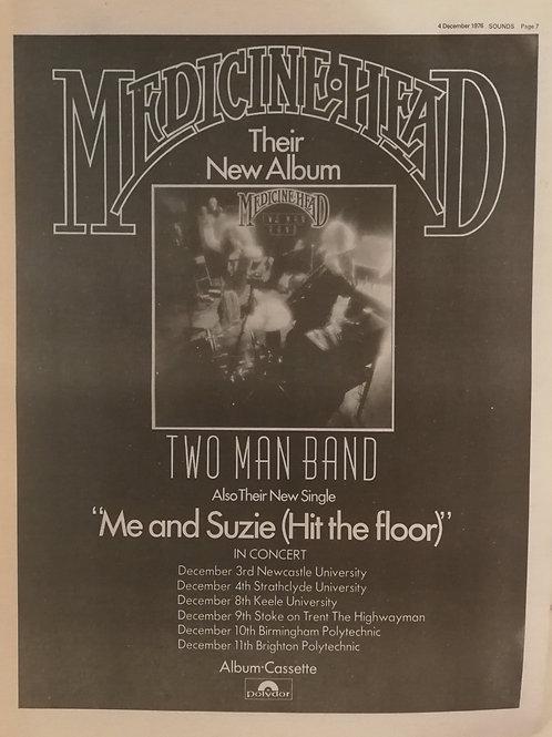 Medicine Head - Two Man Band