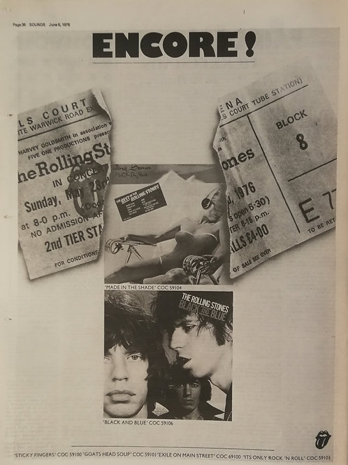 Rolling Stones - Encore