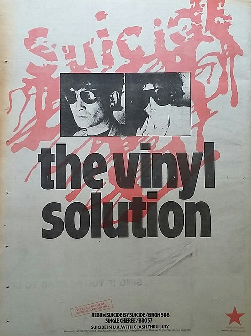 Suicide - The Vinyl Solution
