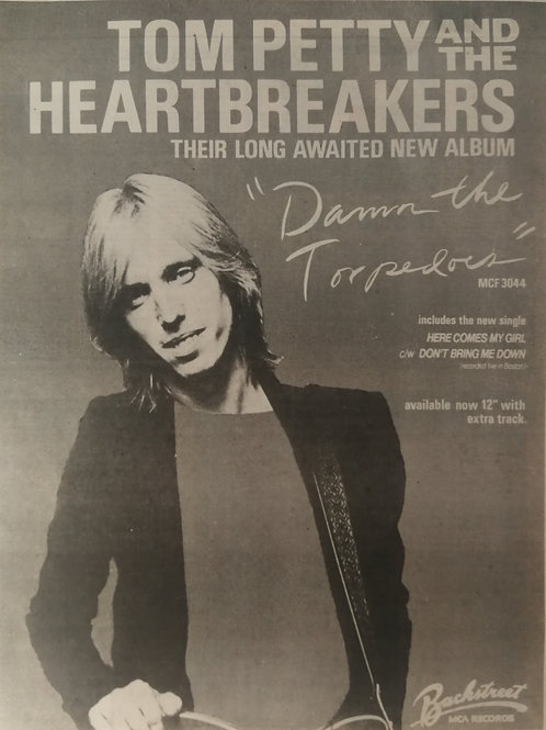 Tom Petty - Down The Torpedoes