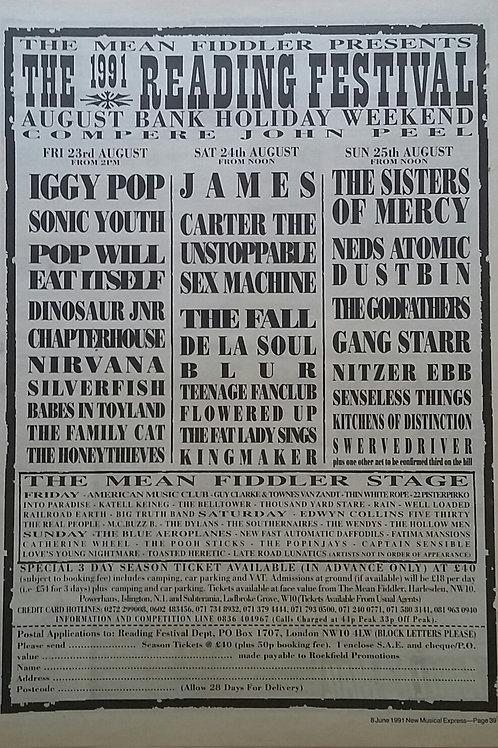 The 1991 Reading Festival