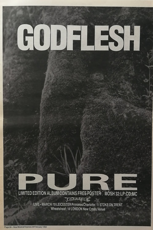 Godflesh ‎– Pure