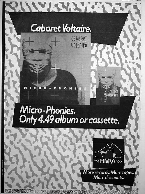 Cabaret Voltaire - Micro Phonies