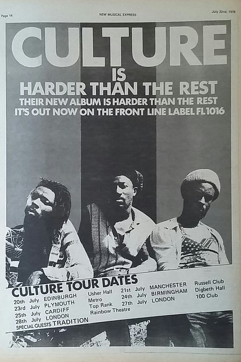 Culture – Harder Than The Rest