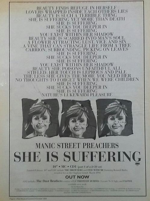 Manic Street Preachers - She Is Suffering