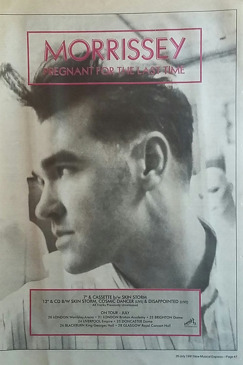 Morrissey ‎– Pregnant For The Last Time