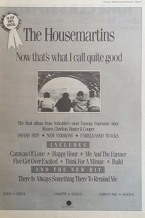 The Housemartins - Now That's What I Call Quite Good