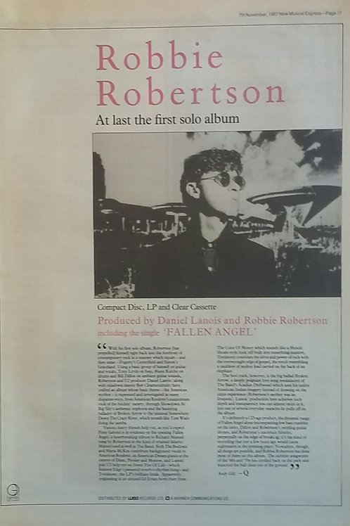 Robbie Robertson - First Solo Album