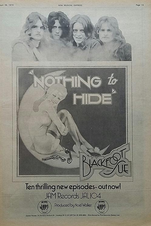 Blackfoot Sue – Nothing To Hide