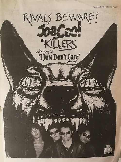 Joe Cool And The Killers – I Just Don't Care