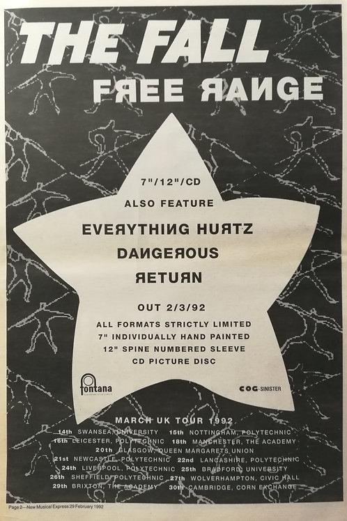 The Fall - Free Range