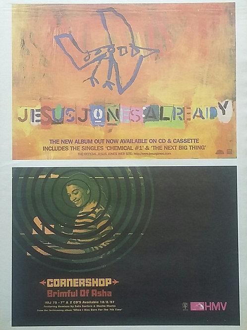 Jesus Jones / Corneshop - Already / Brimful Of Asha