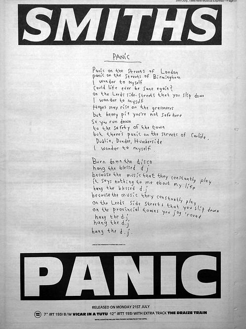 Smiths - Panic