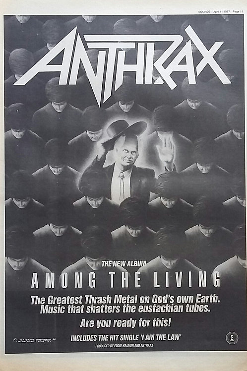 Anthtrax - Among The Living