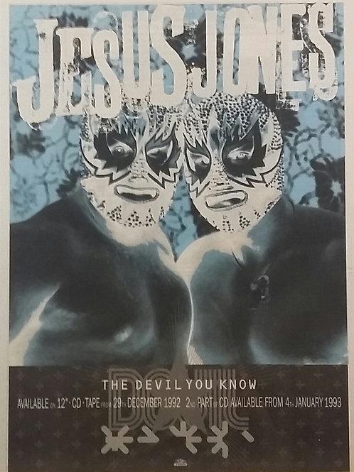 Jesus Jones - The Devil You Know
