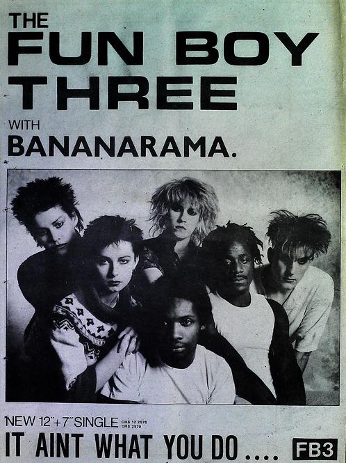 The Fun Boy Three With Bananarama - It Aint What You Do