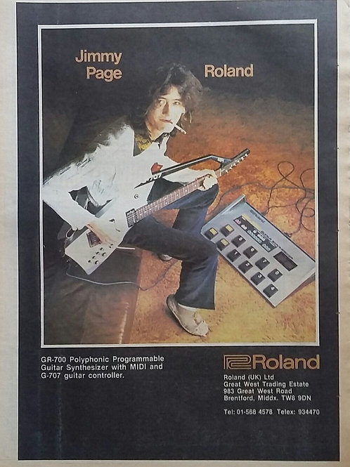Jimmy Page - Roland