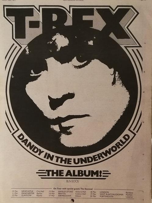 T-Rex - Dandy In The Underworld