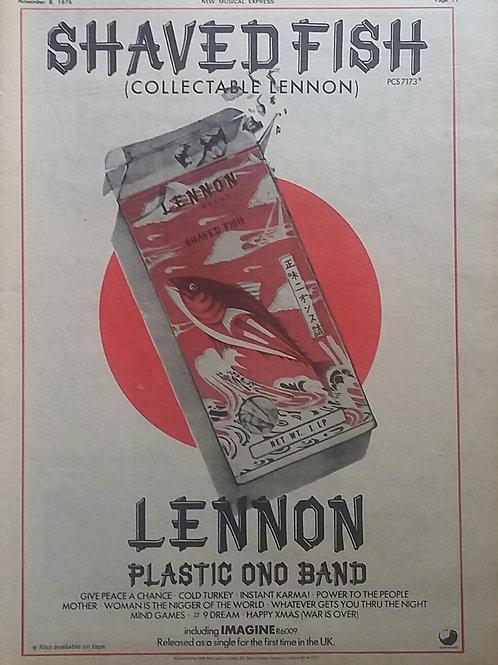 Lennon / Plastic Ono Band – Shaved Fish