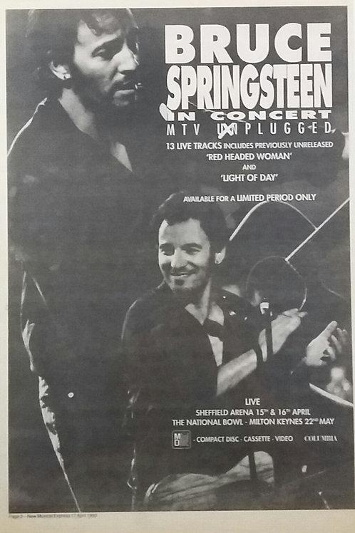 Bruce Springsteen - Mtv Unplugged