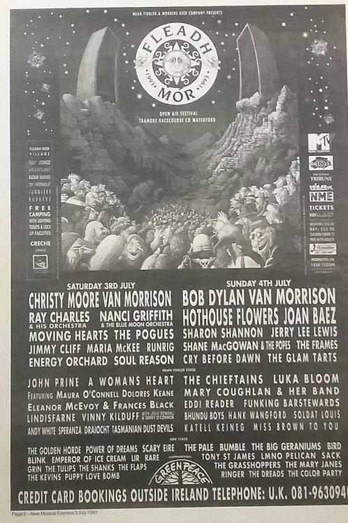 Fleadh Mor 1993 Festival