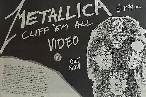 Metallica - Cliff 'Em All ( video )
