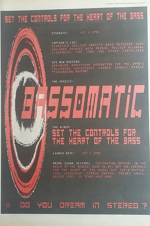 Bassomatic - Set The Controls For The Heart Of The Bass