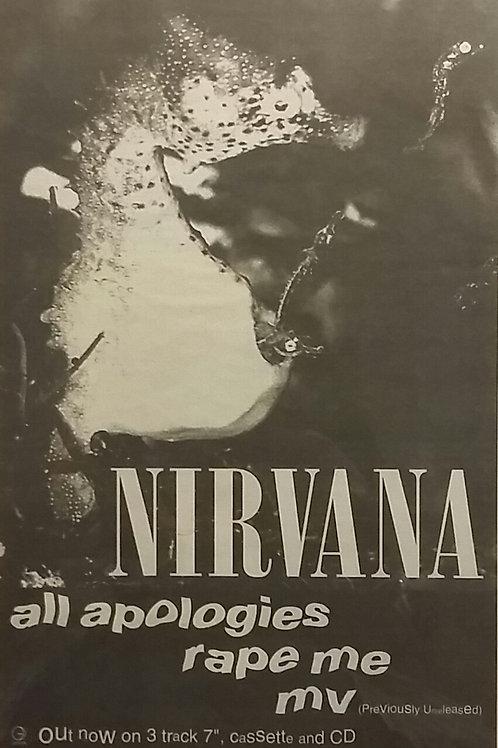 Nirvana – All Apologies ● Rape Me ● MV