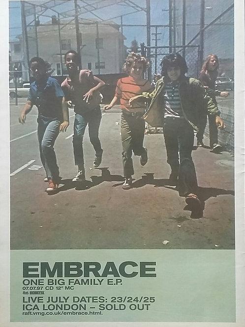 Embrace - One Big Family E.P.