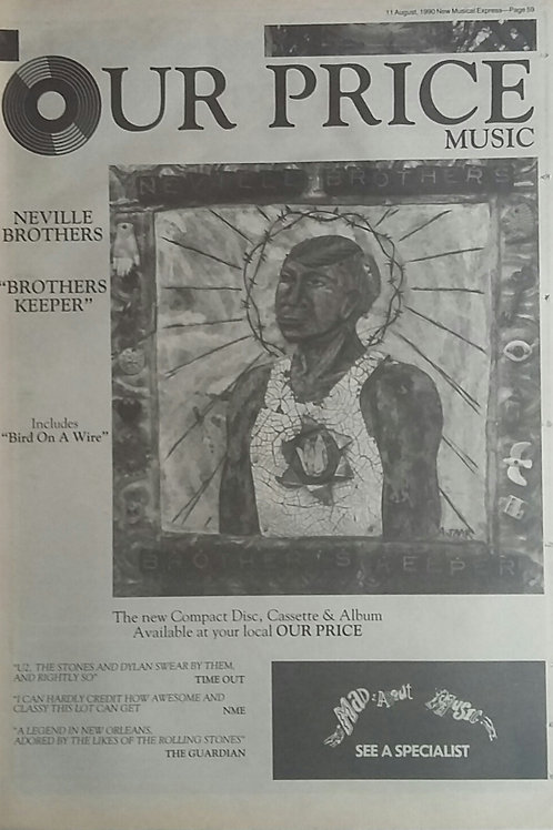 Neville Brothers - Brothers Keeper