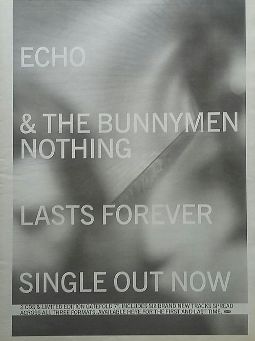 Echo & The Bunnymen - Lasts Forever