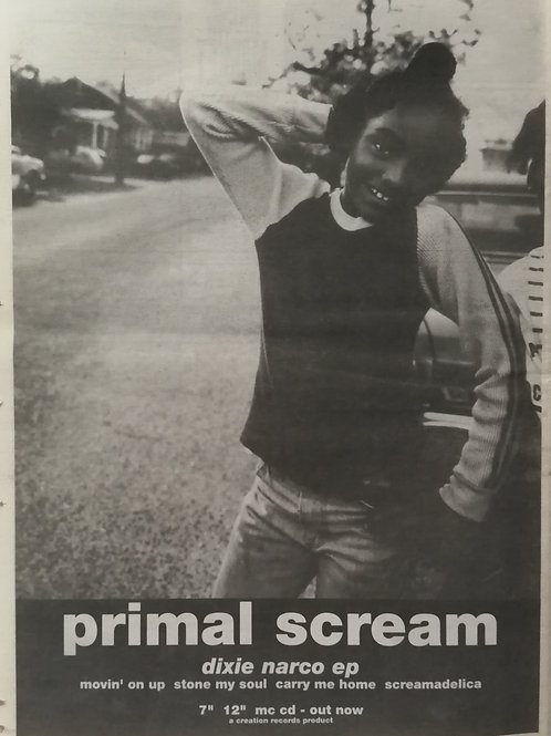 Primal Scream - Dixie Narco Ep