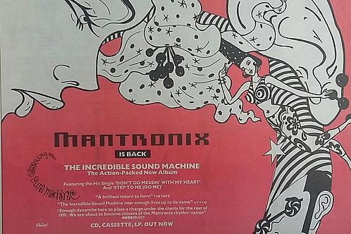 Mantronix - The Incredible Sound Machine