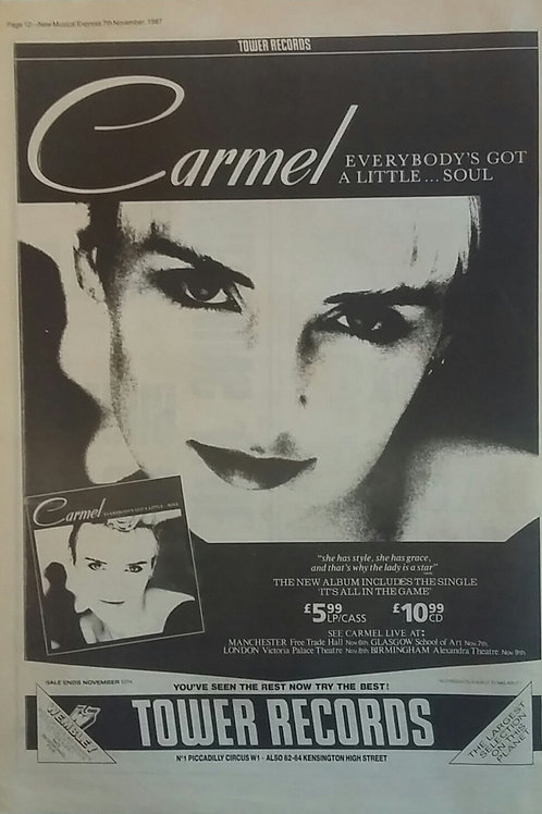 Carmel - Everybody's Got A Little ... Soul