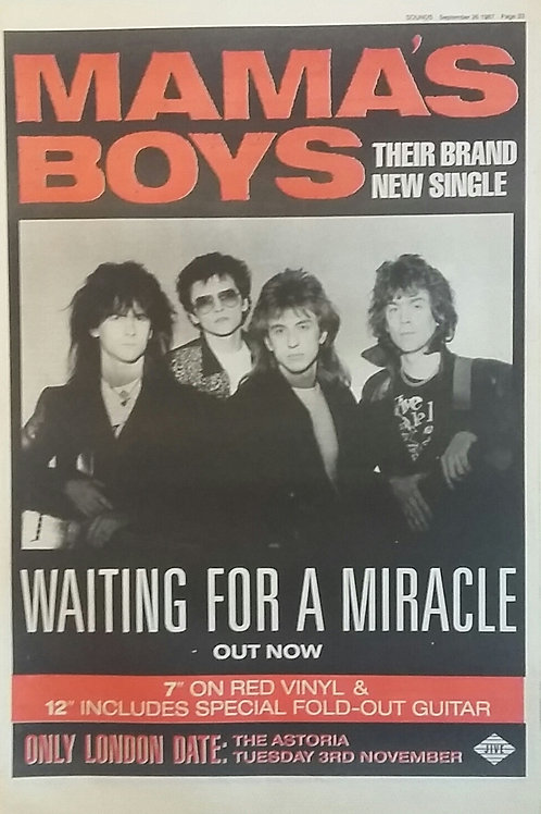 Mama' s Boys - Waiting For A Miracle