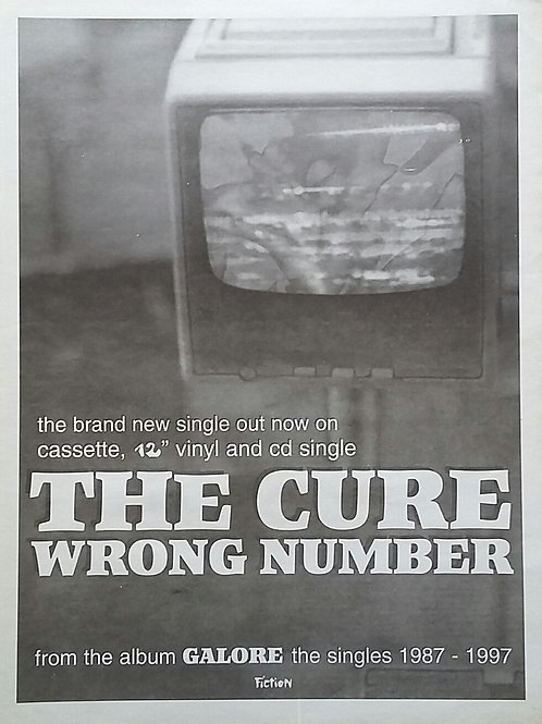 Cure - Wrong Number