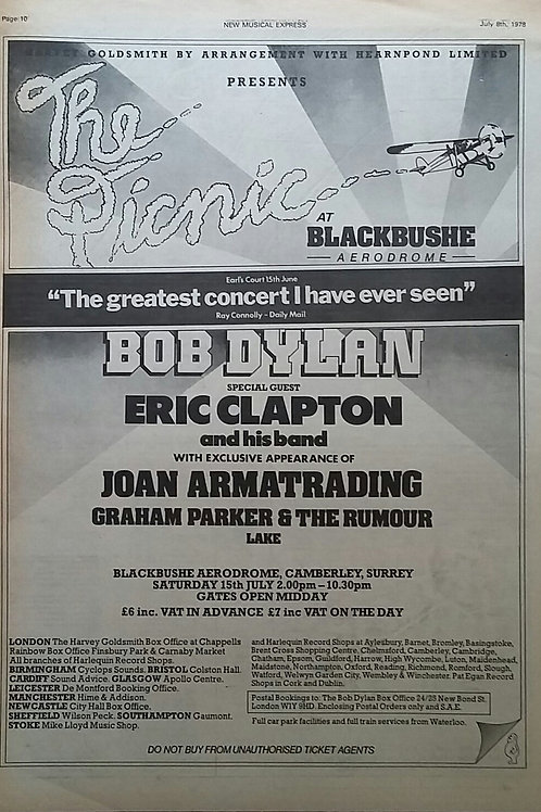 Bob Dylan - Concert