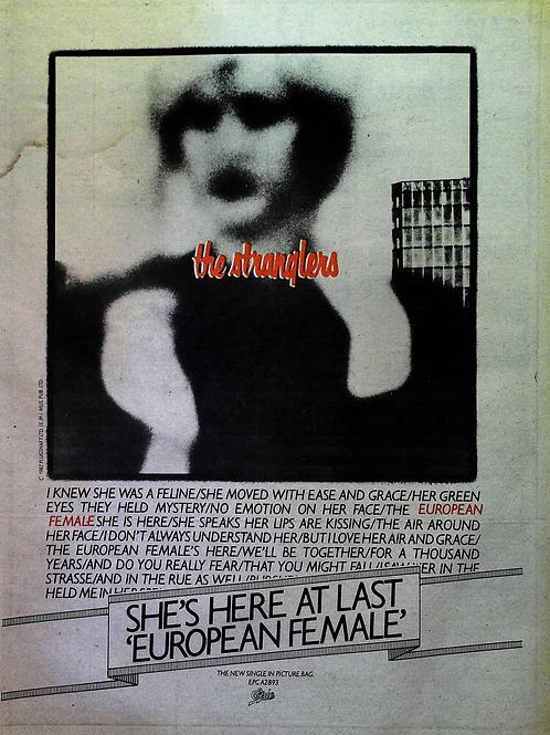 The Stranglers - Europen Female