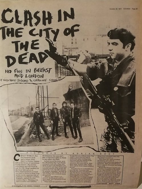 The Clash - In The City Of The Dead