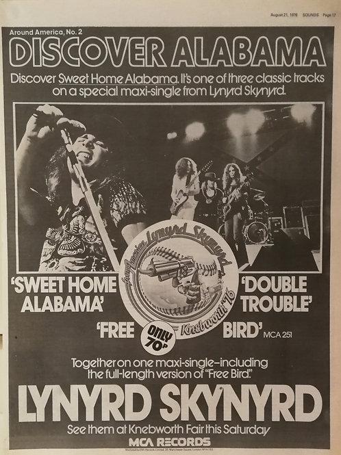 Lynyrd Skynyrd - Discover Alabama