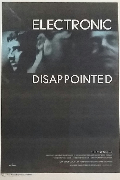 Electronic – Disappointed