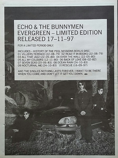 Echo & The Bunnymen – Evergreen