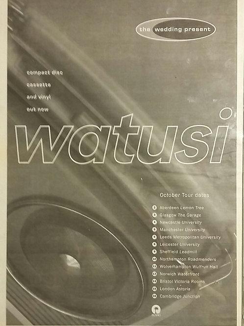 The Wedding Present – Watusi