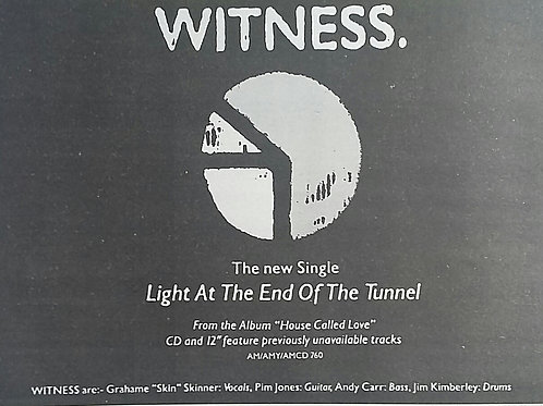 Witness - Light At The End Of The Tunnel