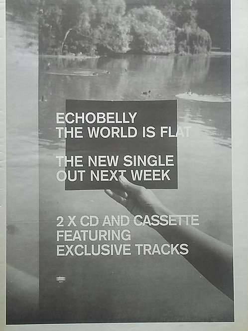 Echobelly - The World Is Flat