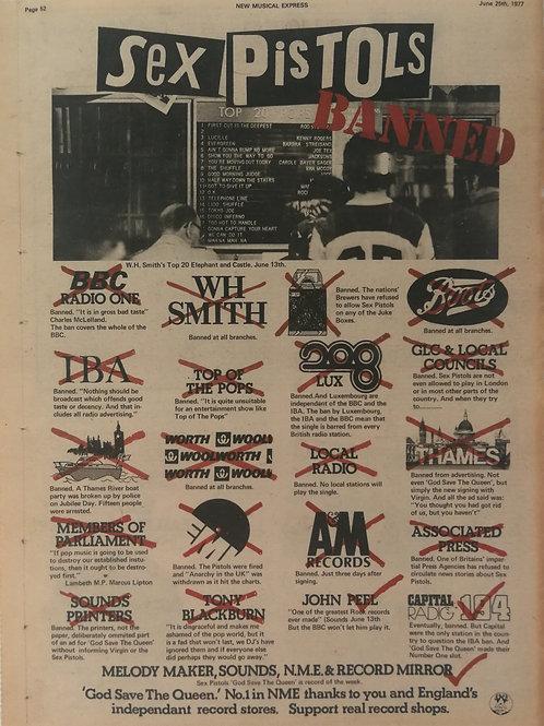 Sex Pistols - Banned