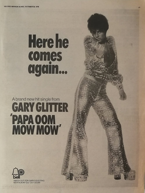 Gary Glitter - Papa Oom Mow Mow