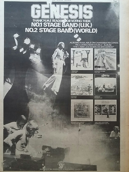 Genesis - Records