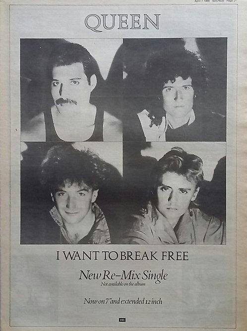 Queen - I Wan't To Break Free