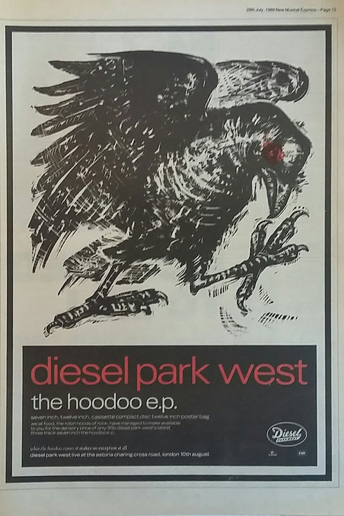 Diesel Park West ‎– The Hoodoo Ep